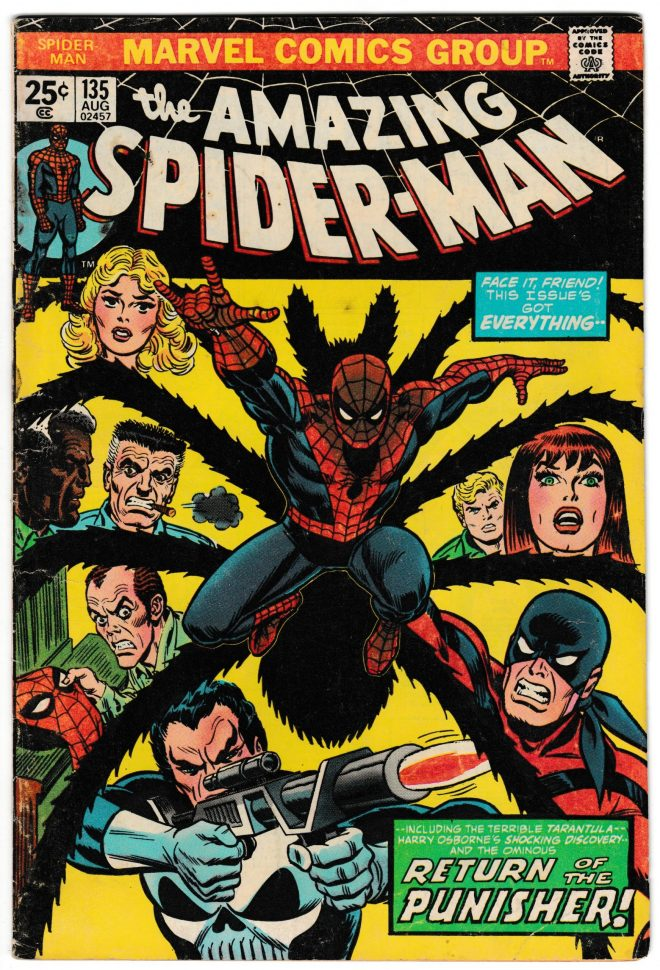 Amazing Spiderman 135