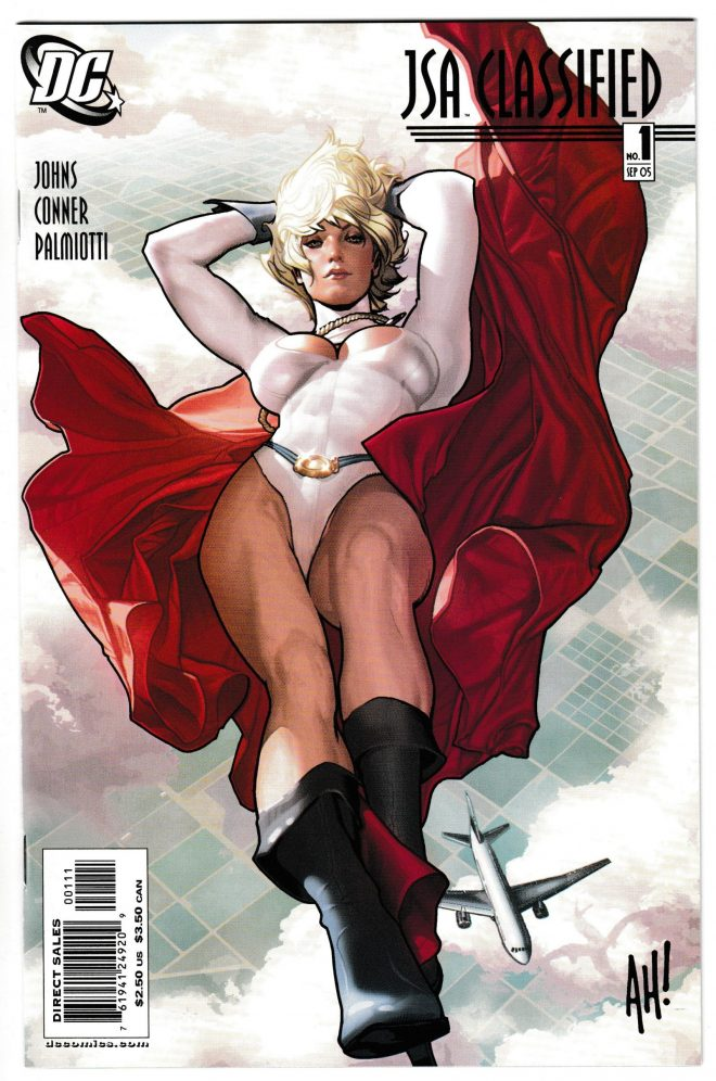 JSA 1 Classified Adam Hughes
