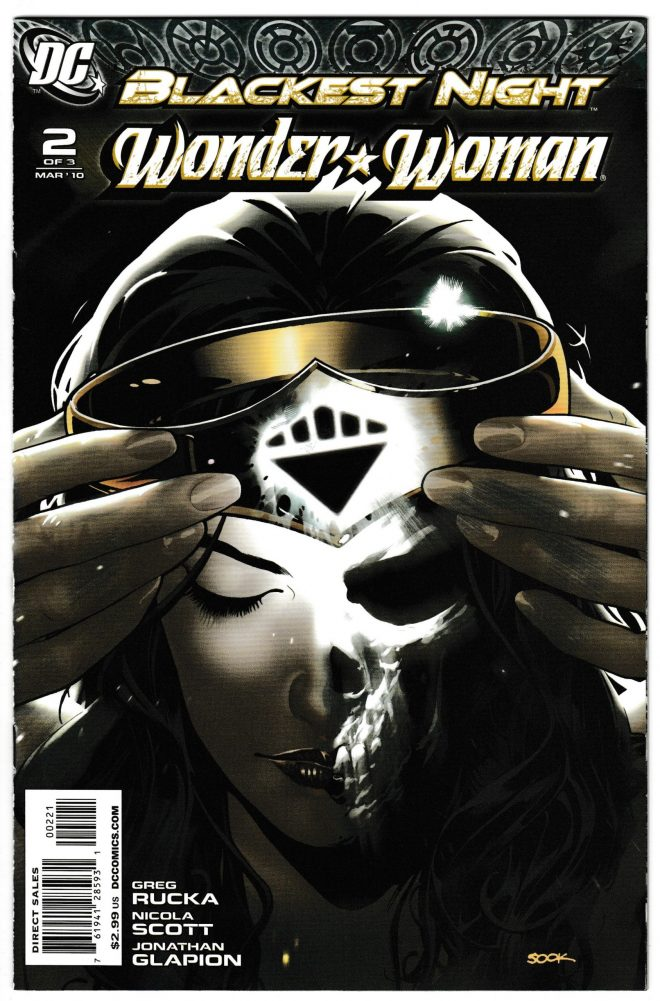 Blackest Night Wonder Woman Variant 2